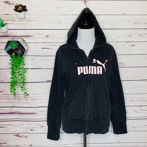 🌺 3/$25 SALE Puma Zip Up Hoodie Size Medium